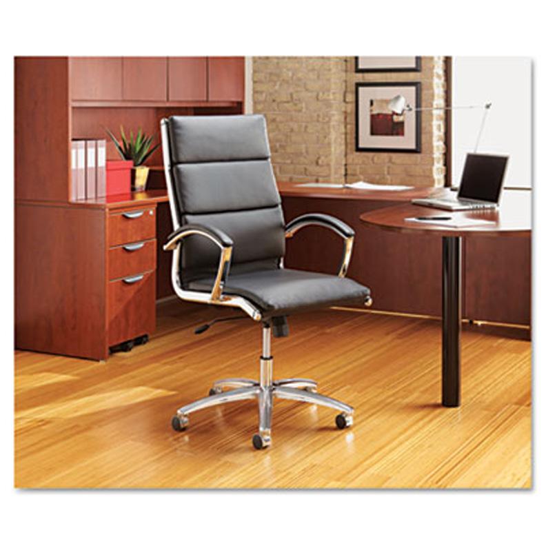 hi back modern leather swivel tilt office chair al