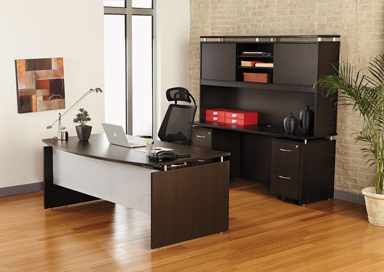 Modern Executive Office Desk : 5pc Modern Contemporary Executive Office Desk Set, #AL-SED-D1 - H2O ...