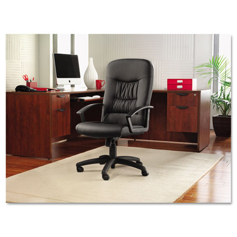 hi back modern leather swivel tilt office chair al