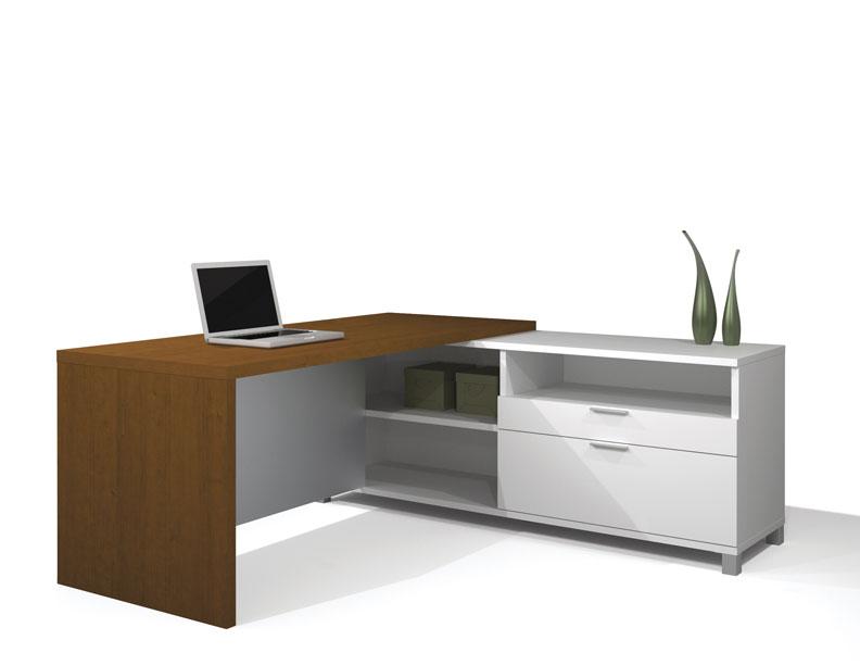 details about 2pc l shape modern executive office desk set be pln l4