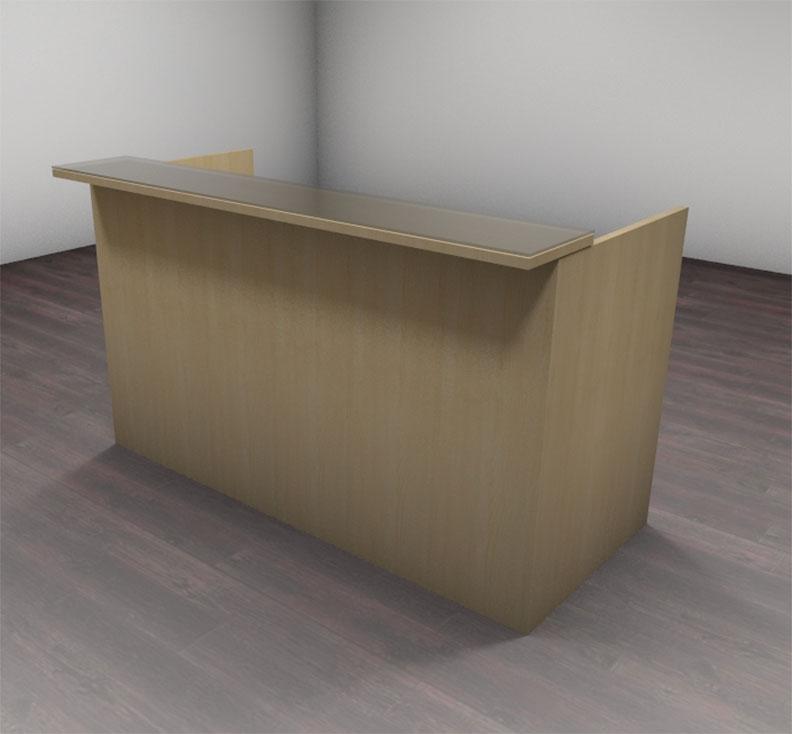 2pc modern glass counter reception desk set ch amb r2 ebay - Reception desk ebay ...