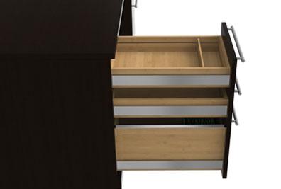 3pc L Shape Modern Executive Office Desk Set Ch Ver L2