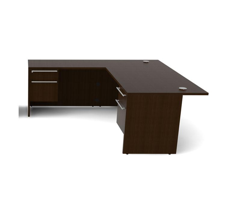 about 4pc l shaped modern executive office desk set ch ver l7