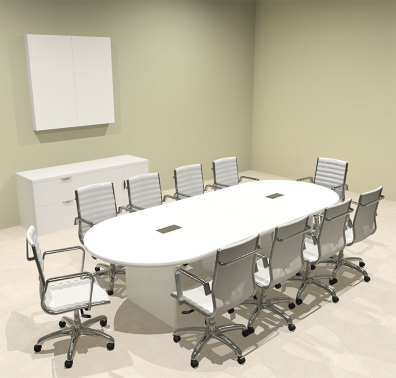 Modern racetrack 10 39 feet conference table of con c111 for 10 foot conference table