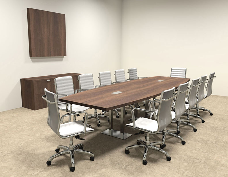 Modern boat shaped steel leg 12 39 feet conference table for 12 conference table