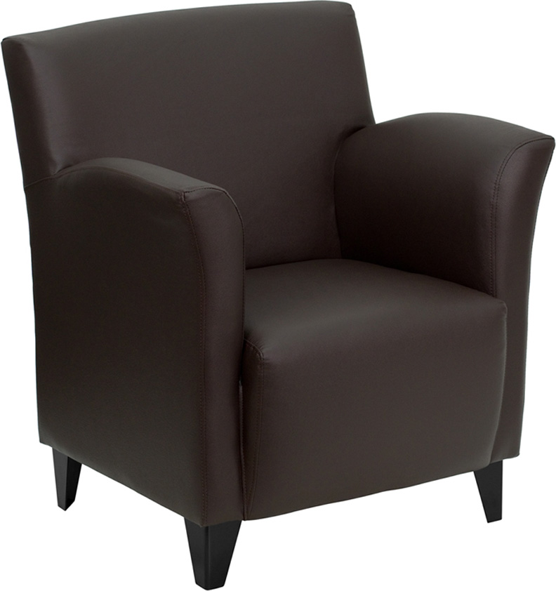 1pc Modern Leather Office Home Reception Guest Chair FF 0484 12 EBay