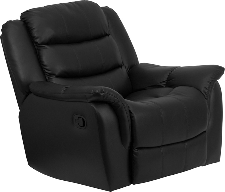 UTM 1pc Modern Leather Oversize Recliner Rocker Chair, FF-0525-12 at Sears.com