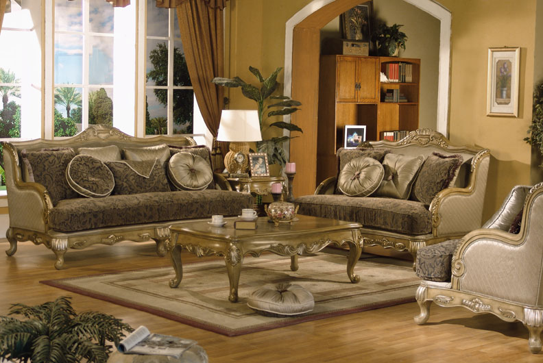 3pc Traditional Classic Fabric Sofa Set MH ANN S2 EBay