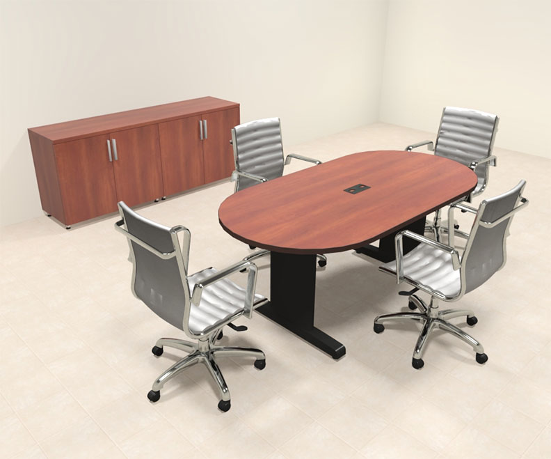 Modern Racetrack 6 39 Feet Conference Table Mt Csd C16