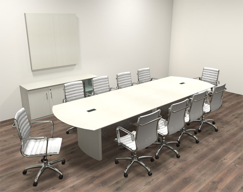 Modern contemporary 12 39 feet conference table mt med c15 for 12 conference table