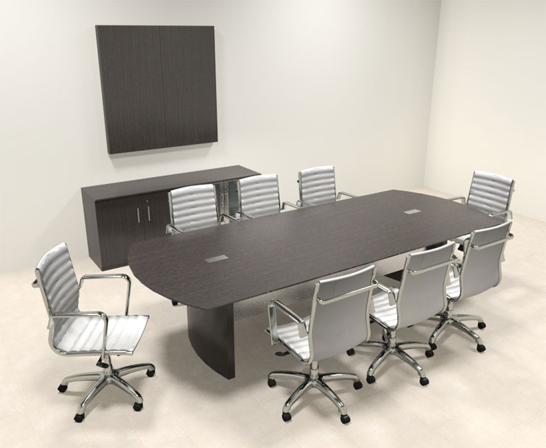 Modern contemporary 10 39 feet conference table mt med c6 for 10 person conference table dimensions