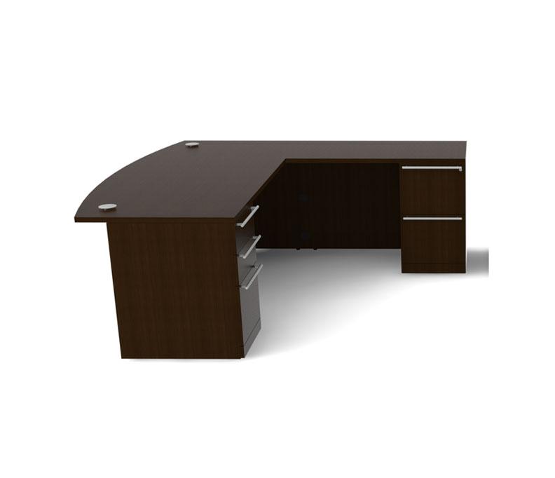 4pc l shape modern executive office desk ch ver l1 ebay