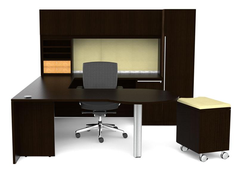9pc u shape modern executive office desk ch ver u3 ebay