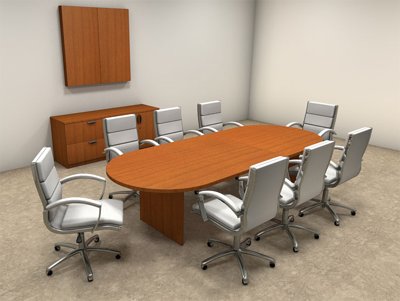 Modern racetrack 10 39 feet conference table ot sul c9 ebay for 10 foot conference table