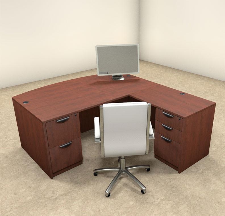 details about 4pc l shaped modern executive office desk ot sul l2