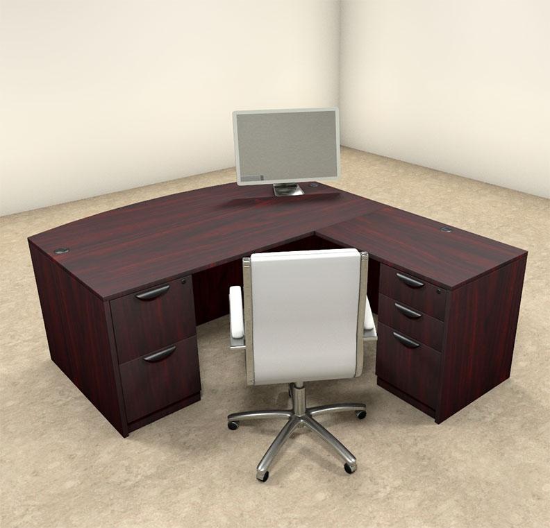 4pc l shaped modern executive office desk ot sul l3 h2o furniture