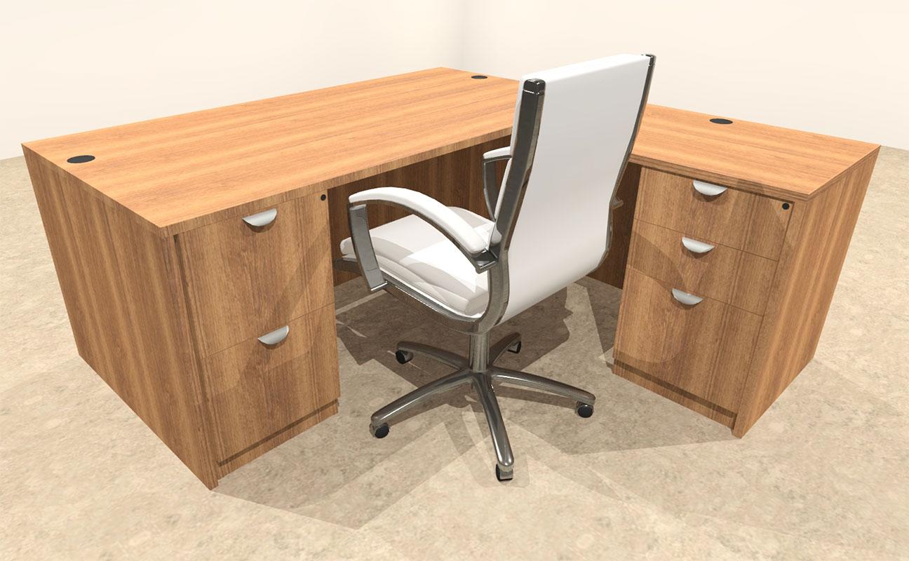 4pc l shaped modern executive office desk ot sul l5 color4office
