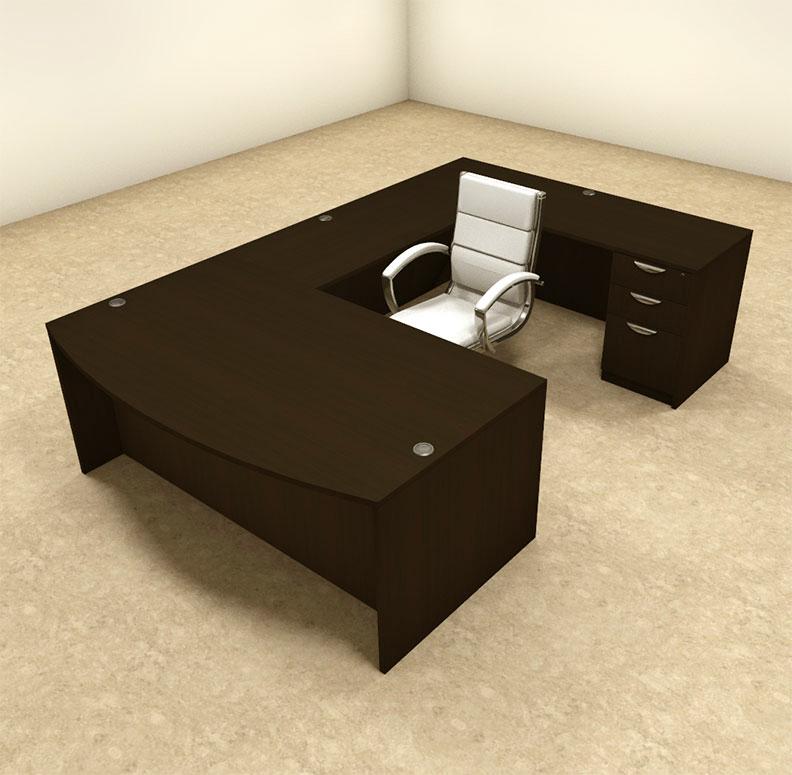 4pc u shaped modern executive office desk ot sul u4 ebay for Furniture 4 u