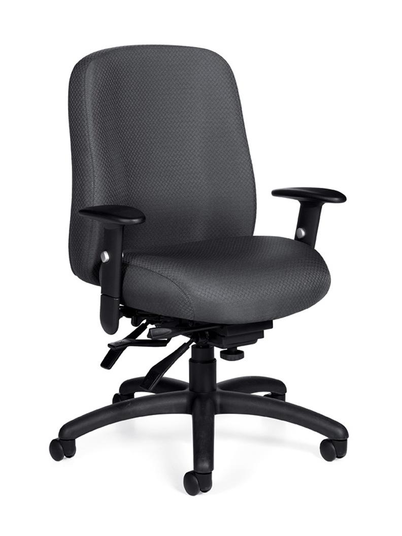 hi back modern fabric ergonomic office chair otg11710
