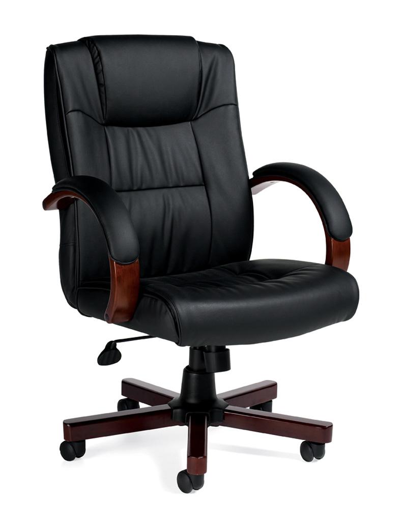 hi back modern leather executive office chair otg11780b