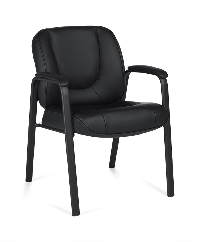 Low Back Modern Leather Guest Office Chair OTG3915B EBay