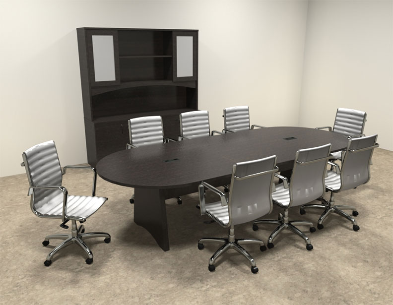 Modern racetrack 10 39 feet conference table ro bri c4 ebay for 10 foot conference table