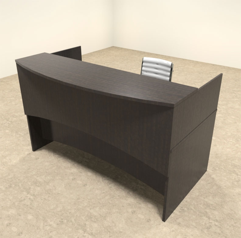 2pc modern counter reception desk set ro bri r2 ebay - Reception desk ebay ...