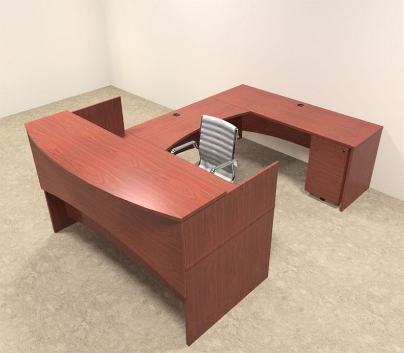 4pc modern counter reception desk set ro bri r5 ebay - Reception desk ebay ...