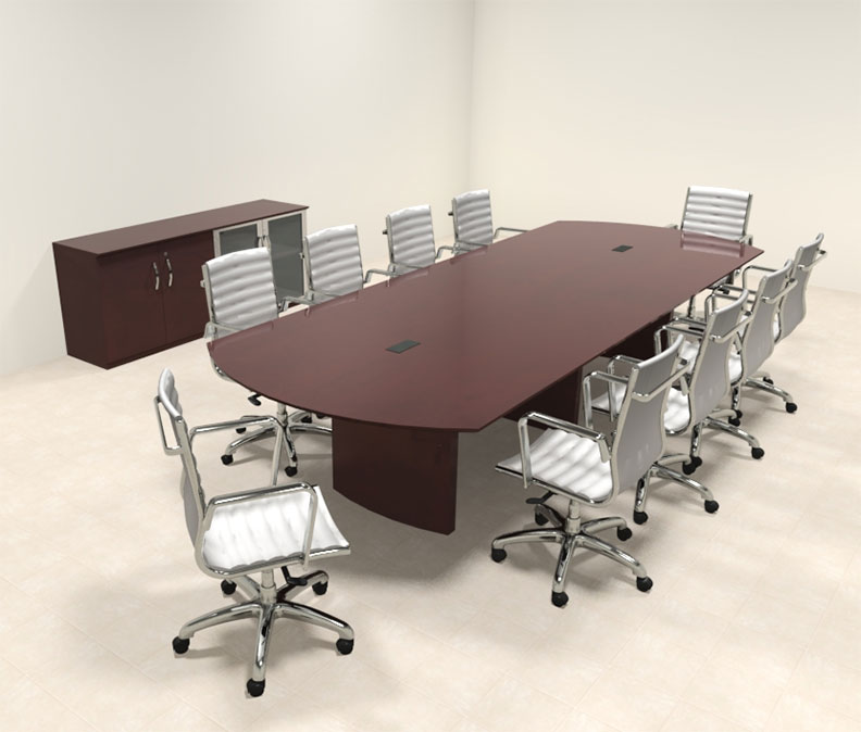 Modern contemporary 12 39 feet conference table ro nap c12 for 12 conference table