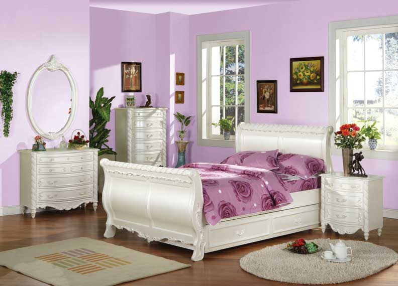 details about new 5pcs all wood single size kids bedroom set us 876