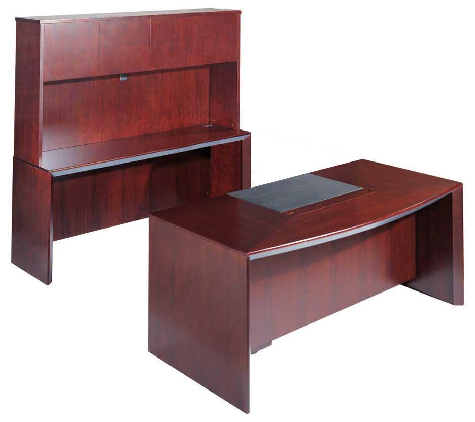 All Wood Office Furniture ~ Pcs u shaped all wood executive office desk set leota