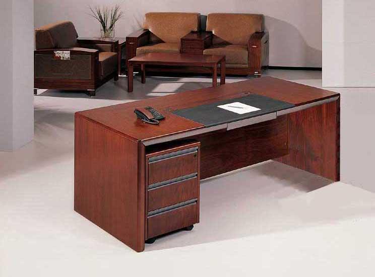 Pcs u shaped all wood executive office desk set leota