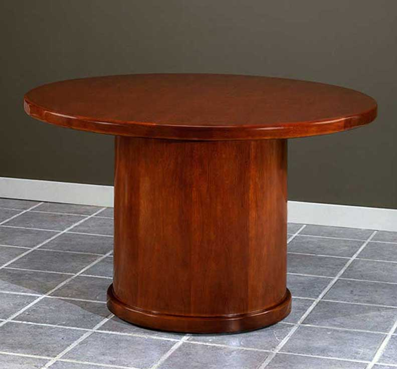 NEW FEET WOOD ROUND CONFERENCE TABLE CHRUBC HO Furniture - 4 foot conference table